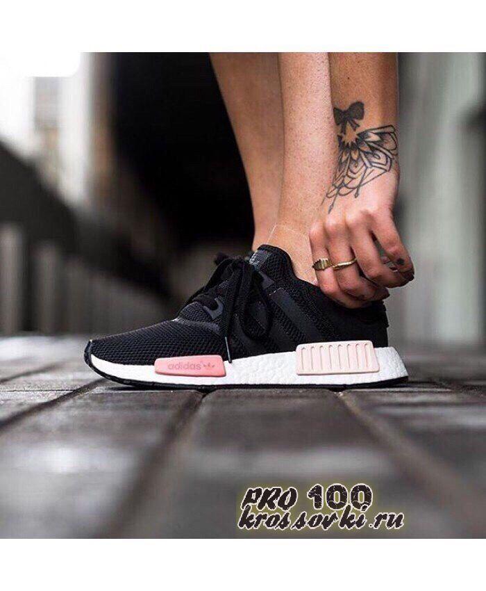 кроссовки Adidas NMD черные