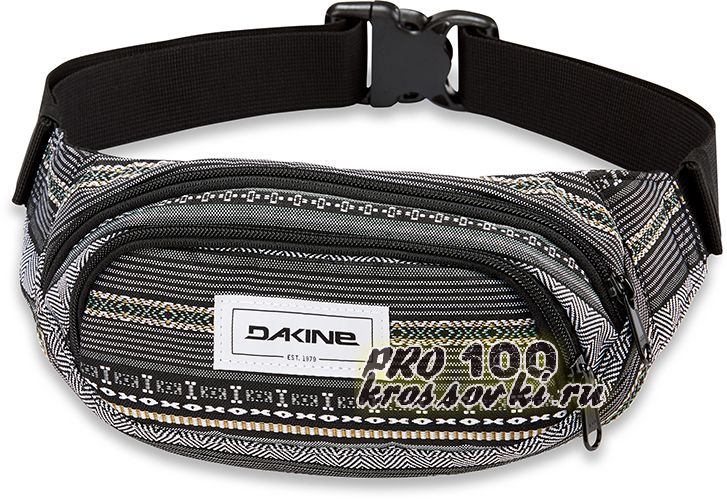 Сумка поясная Dakine Hip Pack с орнаментом