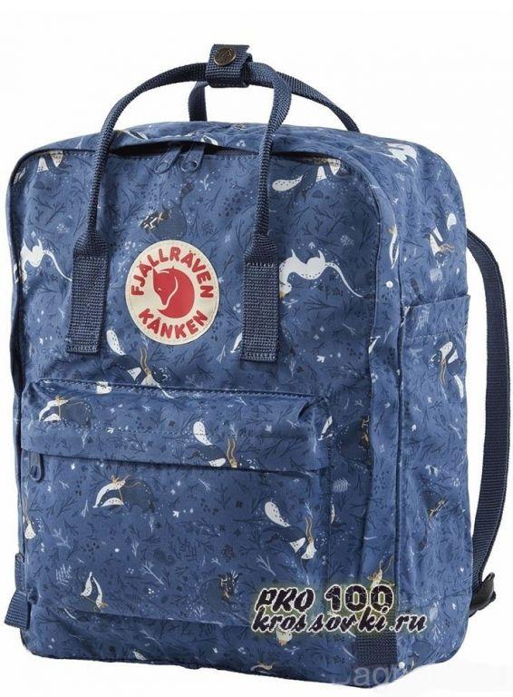 Молодежный рюкзак Fjallraven Kanken Art Blue Fable