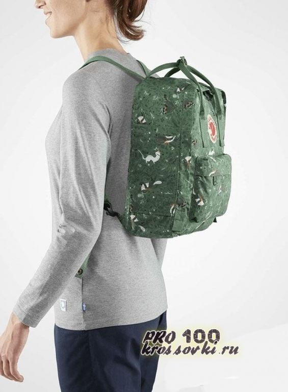 Модный рюкзак Kanken Fjallraven Art Green Fable