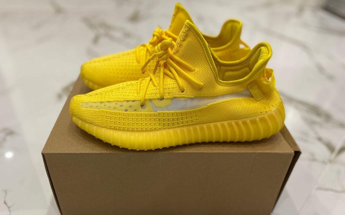 Adidas Yeezy Boost 350 V2 желтые