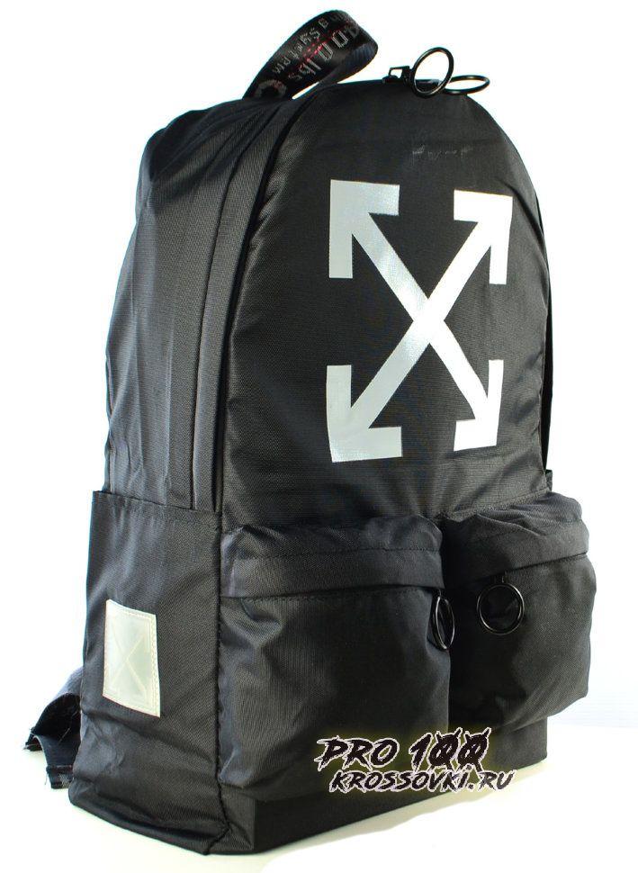 Рюкзак Off-White с накладными карманами