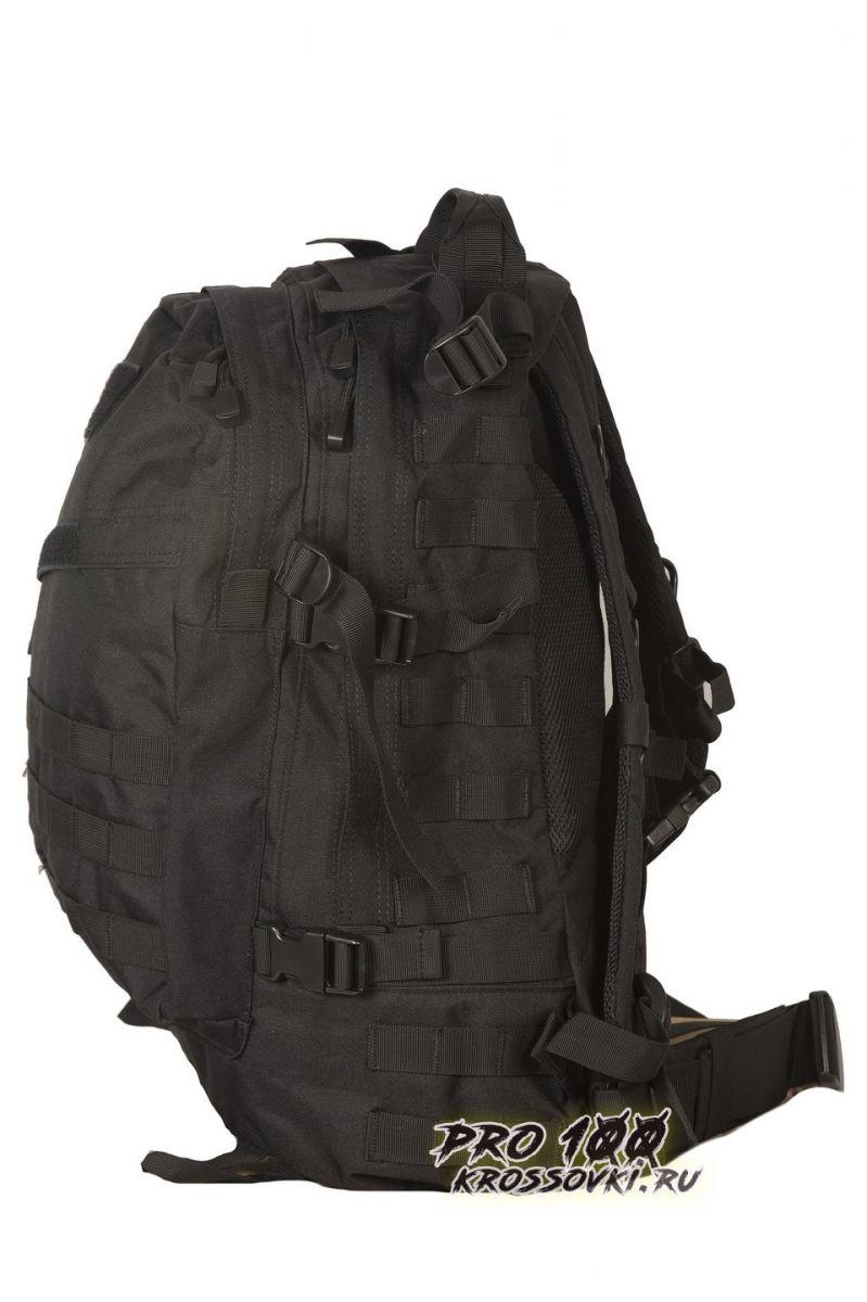 """Черный тактический рюкзак """"Охотник"""" 45 л."""