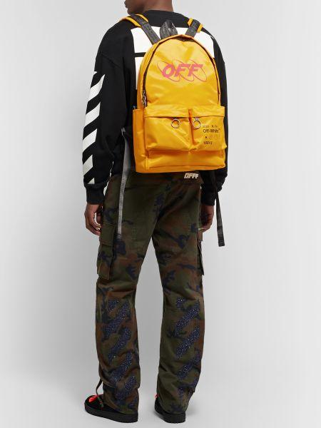 Молодежный рюкзак Off-White Yellow