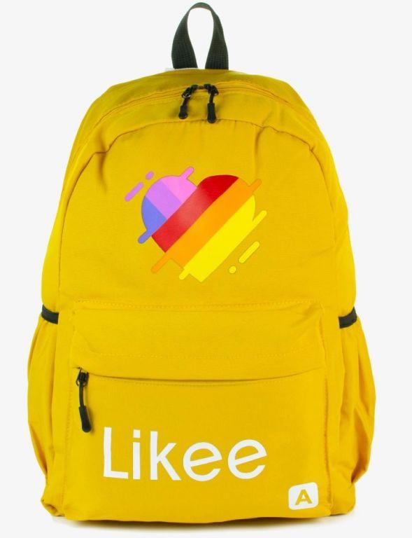 Молодежный рюкзак Likee желтый