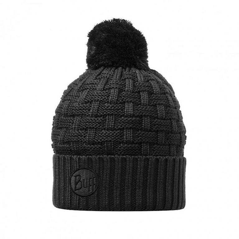 Вязаная шапка Buff Airon black