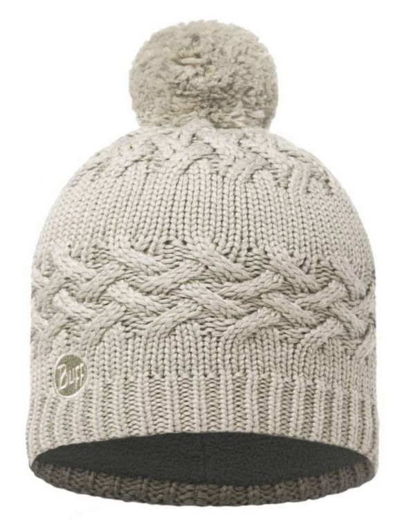 Вязаная шапка Buff Savva Cream