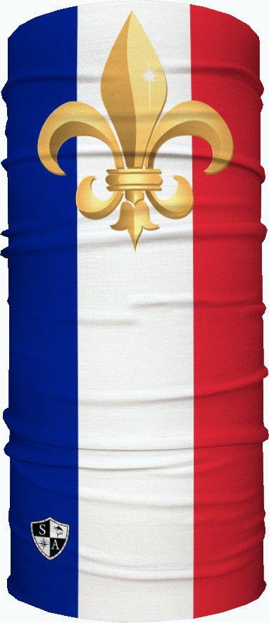 Бандана - бафф с флагом SA France Flag