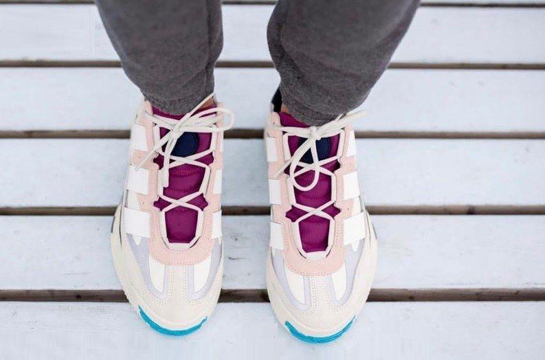 Adidas Nite Ball White & Burgundy