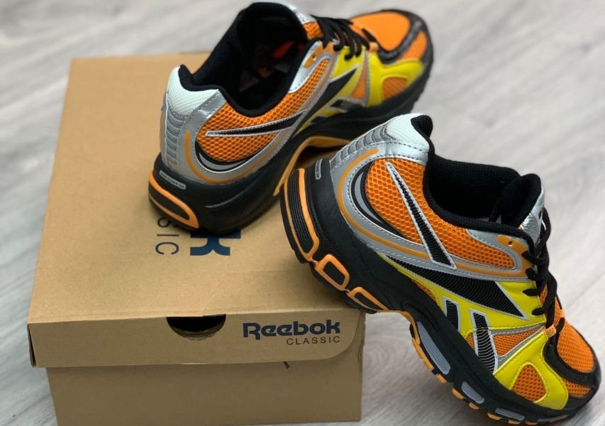 Reebok Spike Runner 200 Vetements Orange Yellow
