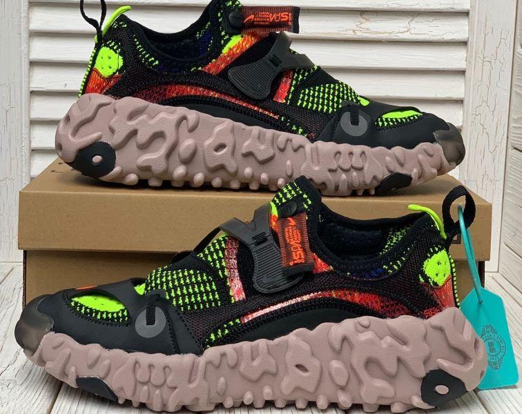 Nike ISPA Overreact Black Red Volt