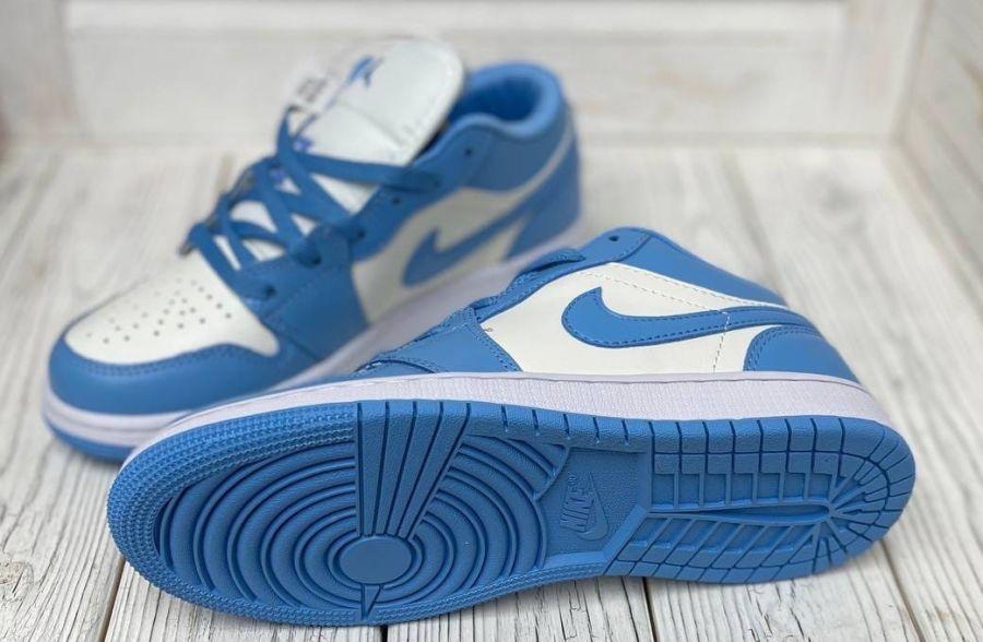 кроссовки Jordan 1 Low UNC (W)