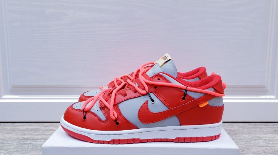 Nike Dunk Low Off-White University Red