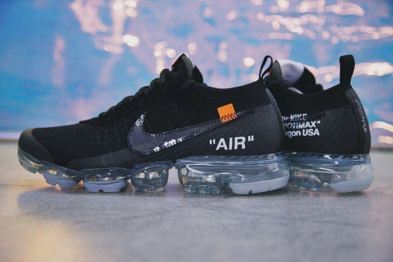 кроссовки OFF-White Nike Vapormax Black -2