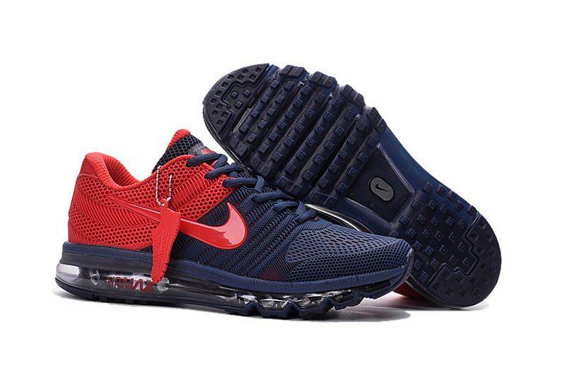 кроссовки Nike Air Max 2017 Dark Blue Red