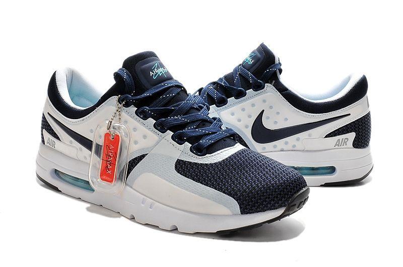 кроссовки Nike Air Max Zero мужские (Navy/White)