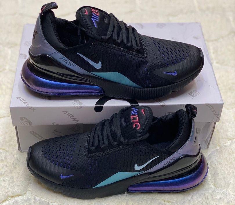 Кроссовки Nike Air Max 270 Black Neon