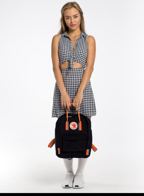Рюкзак Kanken Rainbow Black