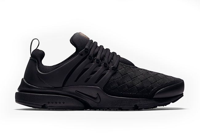 Nike  Presto Woven TRIPLE BLACK