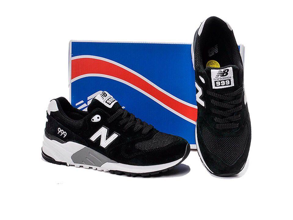 кроссовки New Balance 999 (Black/Grey)