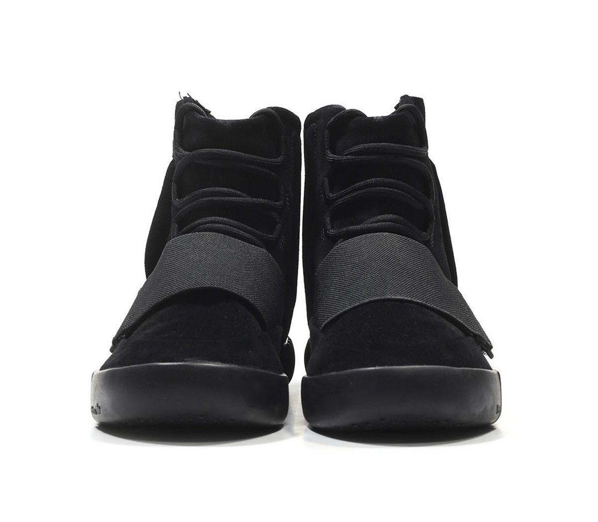 кроссовки Adidas Yeezy 750 Boost By Kanye West Triple Black