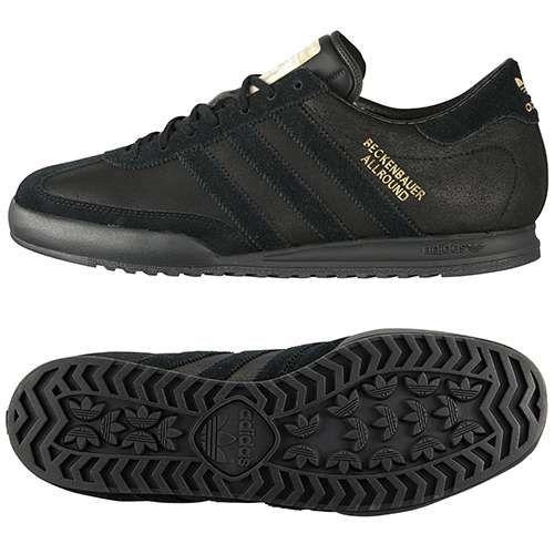Кроссовки Adidas Beckenbauer мужские кожаные черные