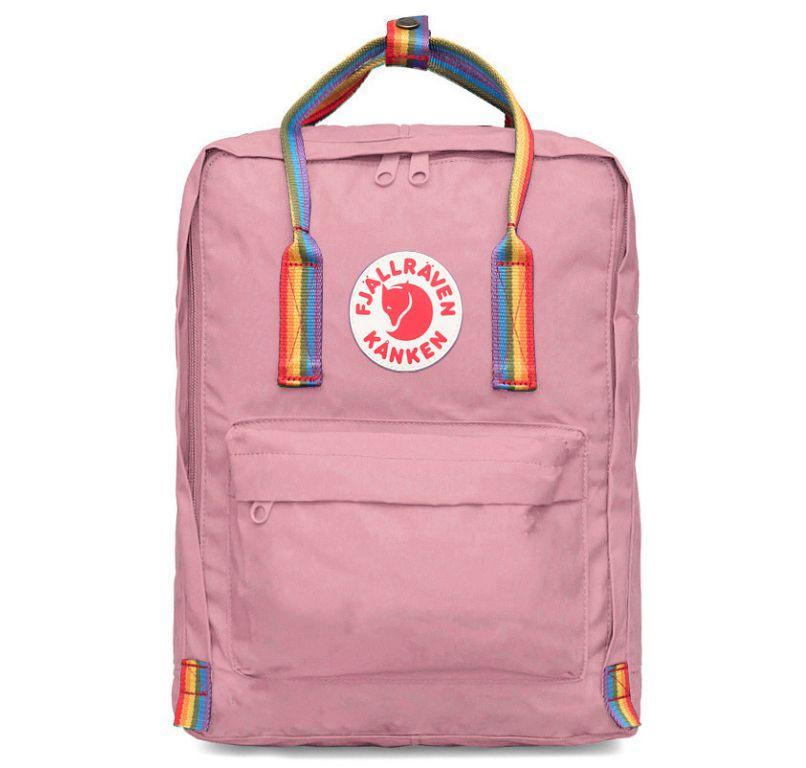 Рюкзак Fjallraven Kanken Rainbow Pink