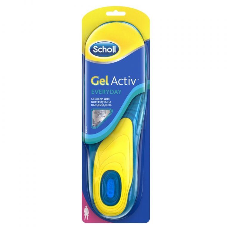 Стельки Scholl Gel Activ на каждый день 36-40