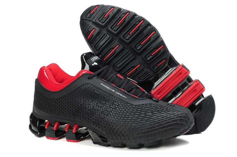 кроссовки Adidas Porsche Design P5000 серо-красные