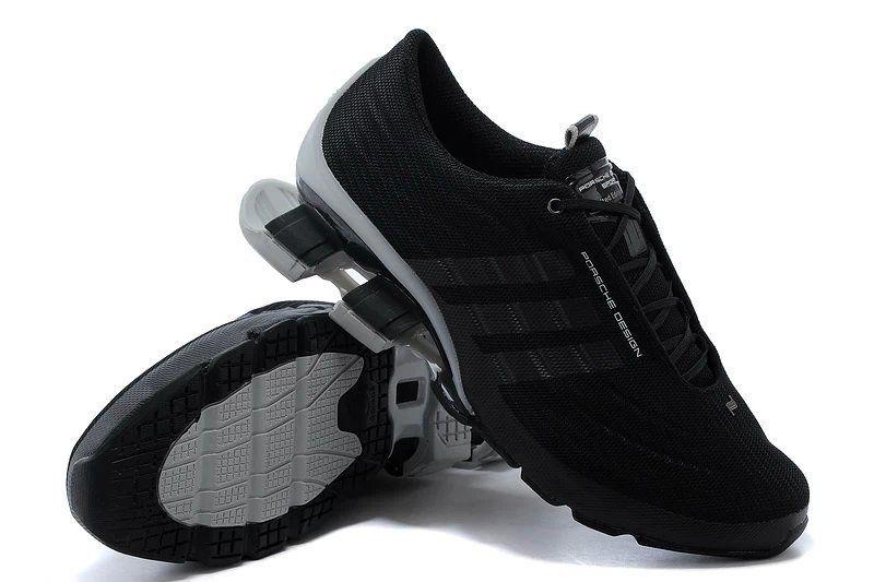 кроссовки Adidas Porsche Design Bounce S4 (Black/Grey)