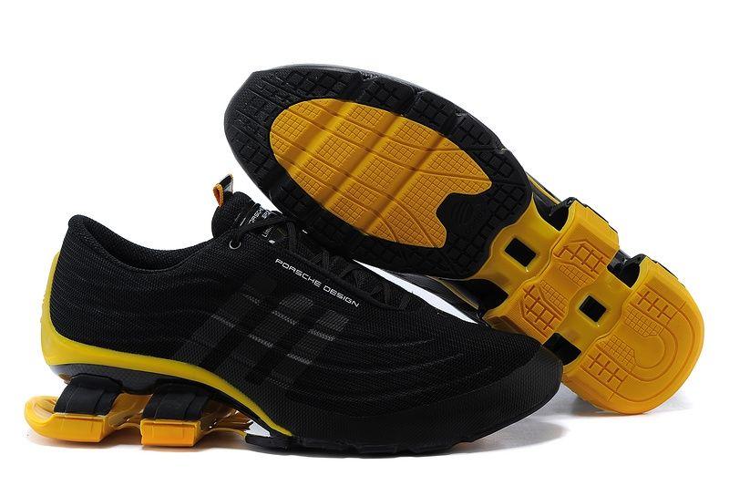 кроссовки Adidas Porsche Design Bounce S4 (Black/Yellow)