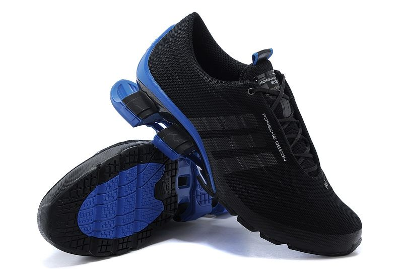 кроссовки Adidas Porsche Design Bounce S4 (Black/Blue)