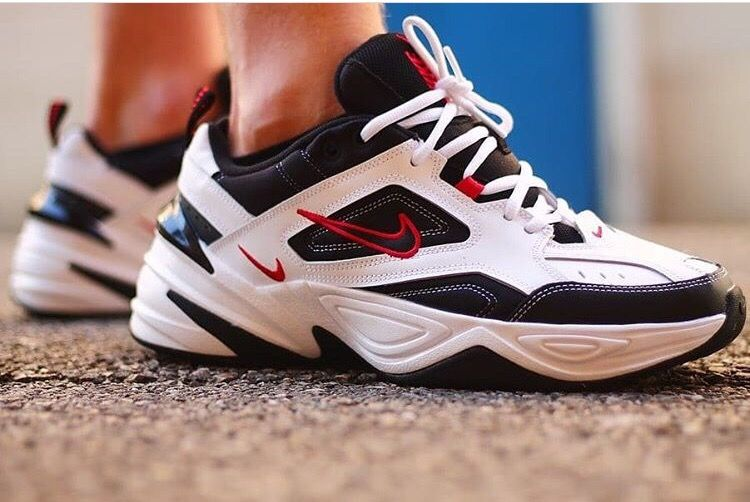 Кроссовки Nike M2K Tekno White Red Black