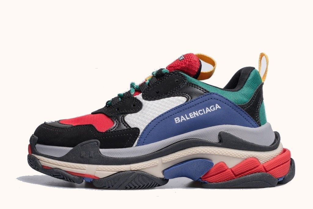 Кроссовки Balenciaga Triple S Multi