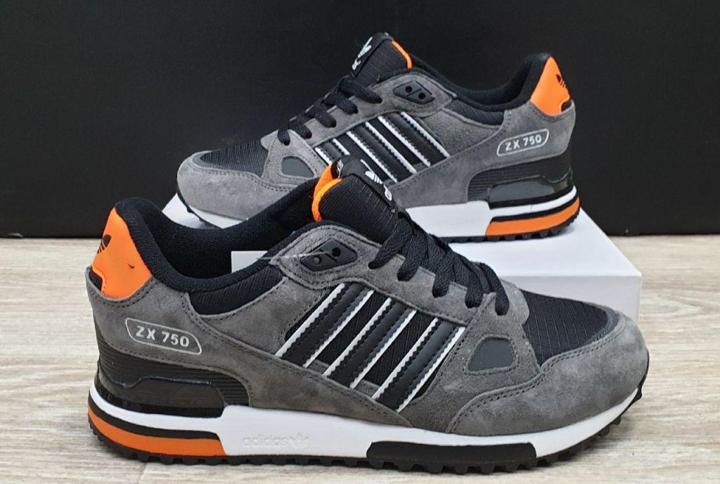 кроссовки Adidas ZX 750 Men Grey