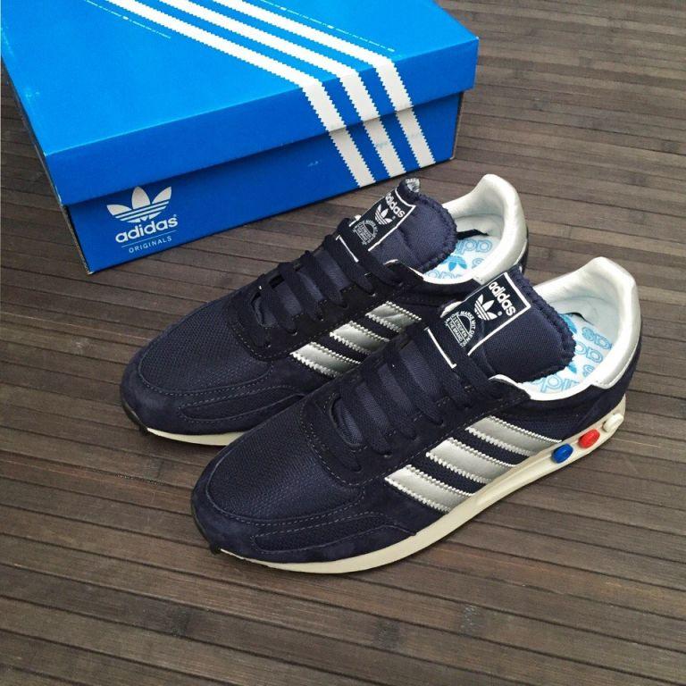 Кроссовки Adidas L.A. Trainer синие