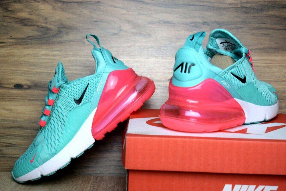 кроссовки женские Nike Air Max 270 бирюзовые