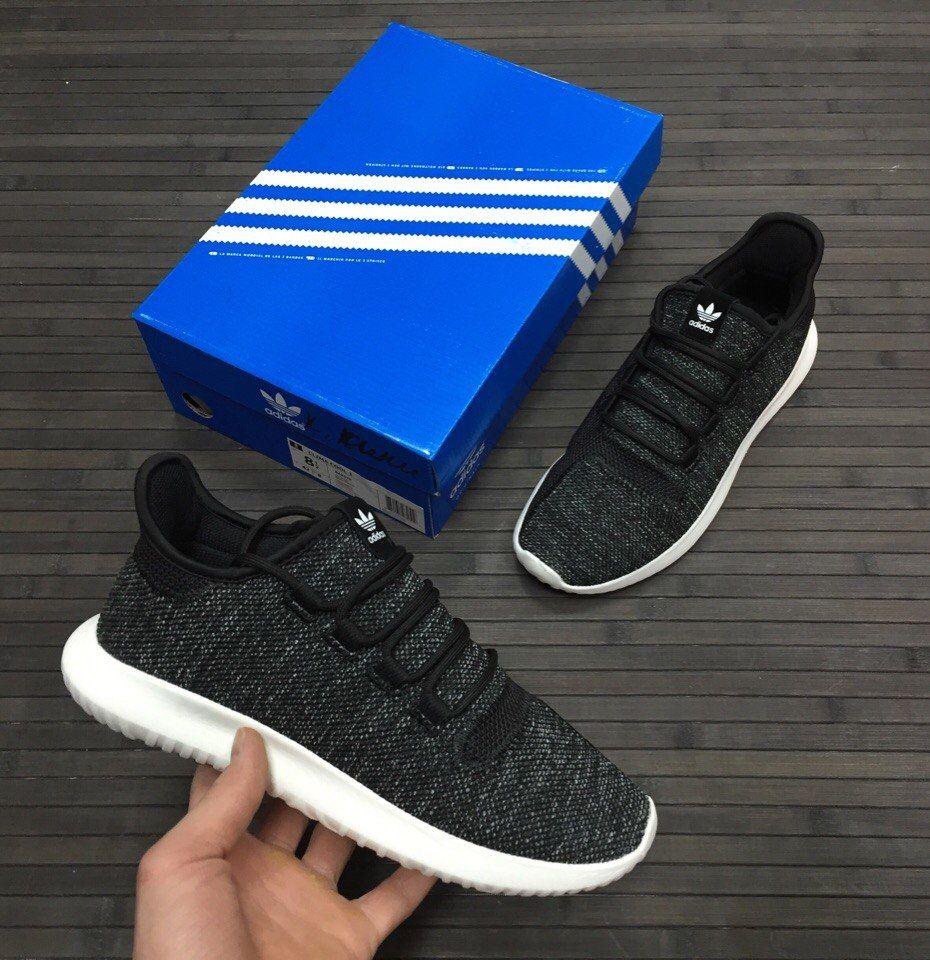 кроссовки Adidas Tubular темно-серые