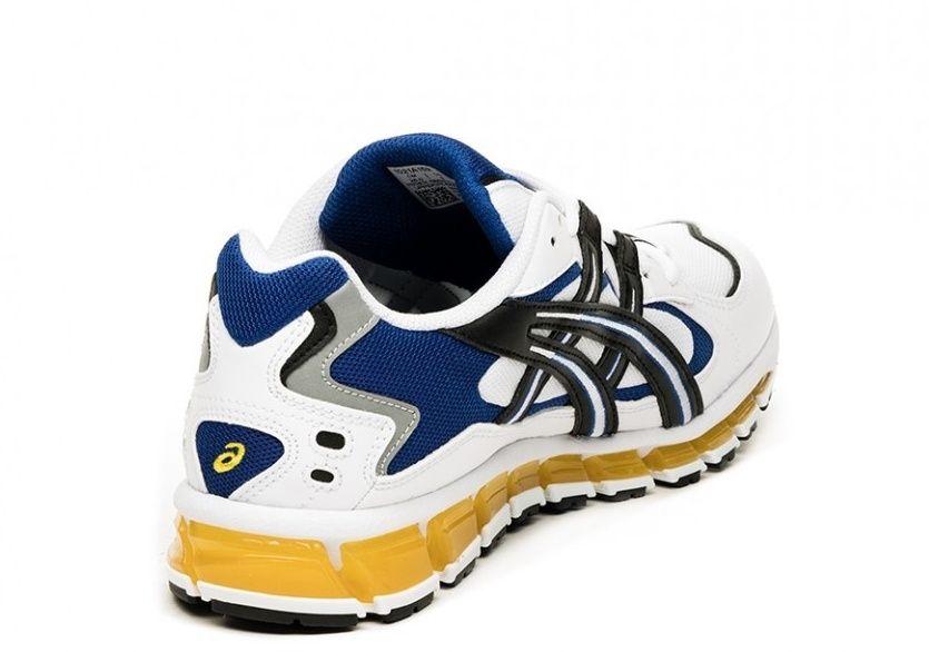 Asics Gel Kayano 5 360 white blue yellow