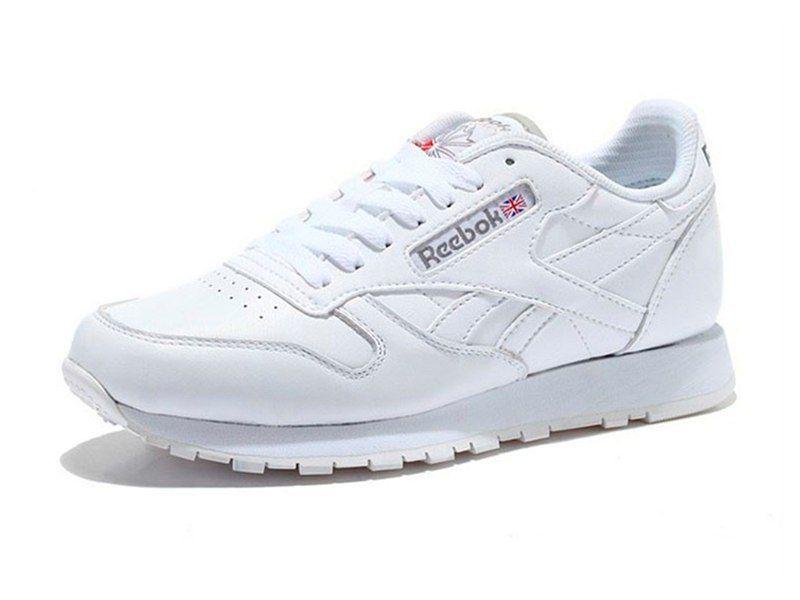 кожаные Reebok Classic Leather  белые
