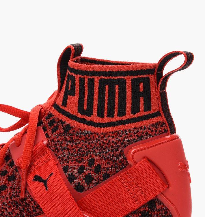 Купить кроссовки Puma Ignite evoKNIT красные