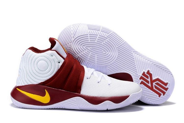 Кроссовки Nike Kyrie 2 White Purple мужские