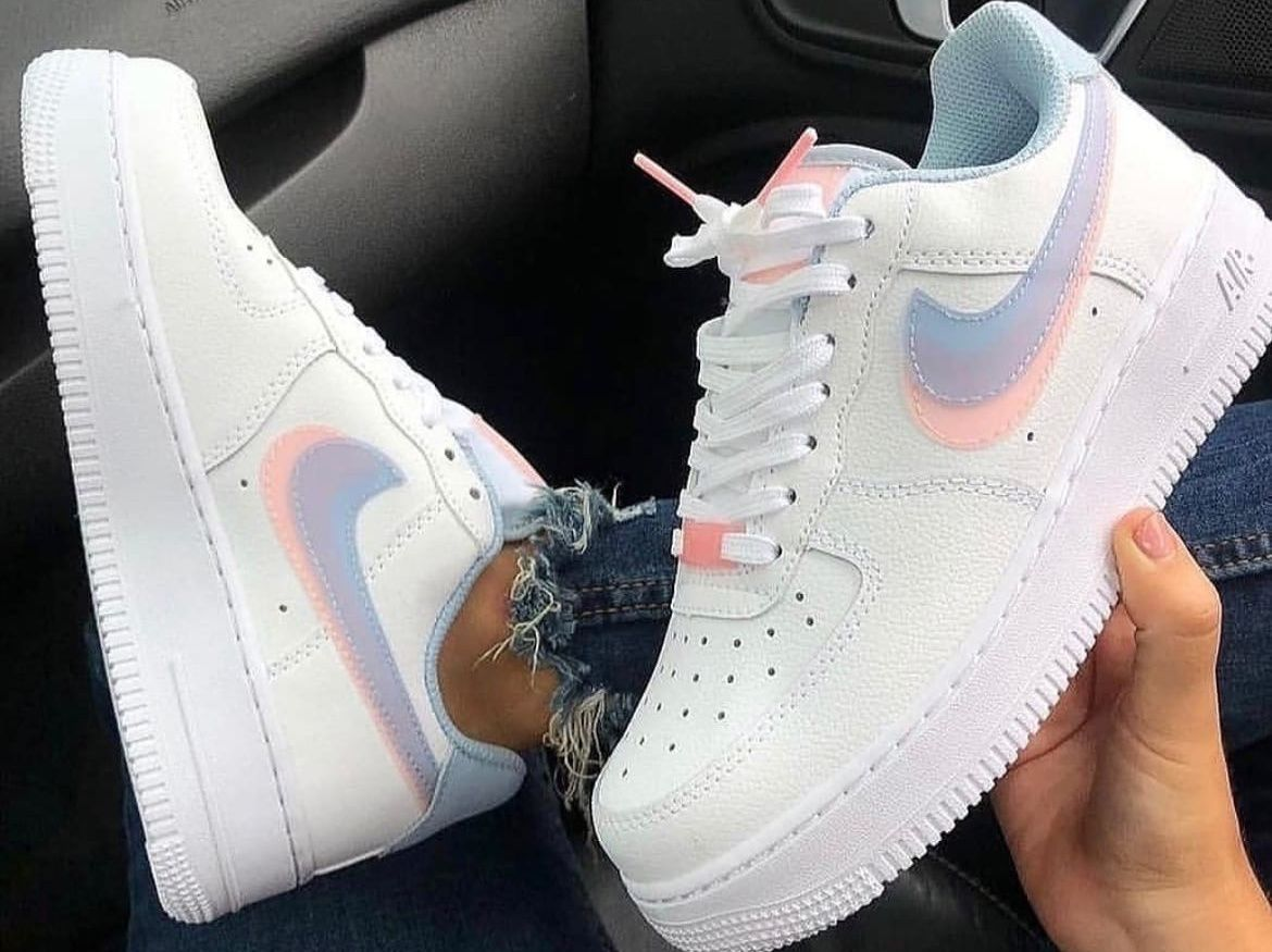 Nike Air Force 1 Low LV8 Double Swoosh Light Armory Blue
