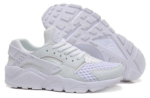 кроссовки Nike Air Huarache Platinum White