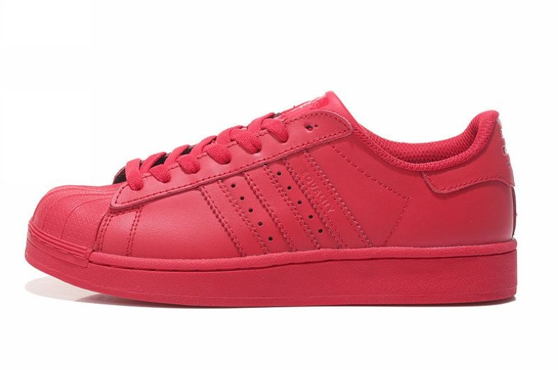 "Adidas Superstar ""Supercolor"" by Pharrell Williams (Red)"