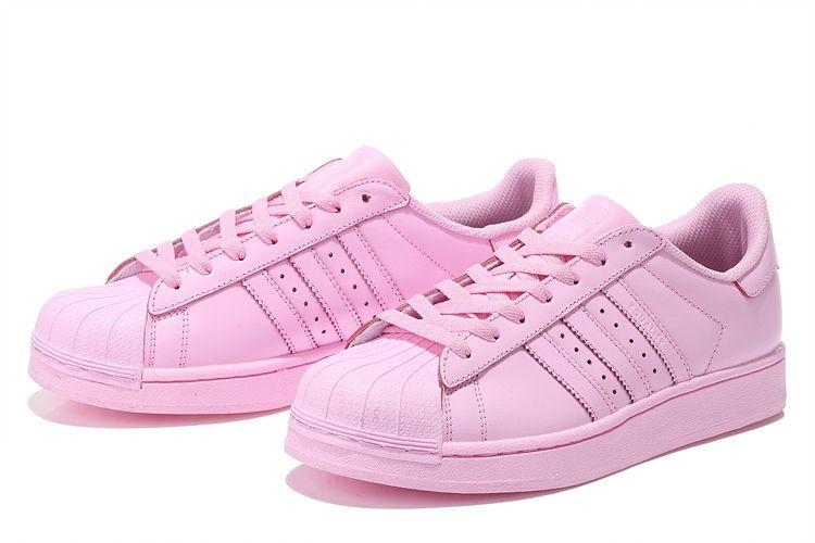 "Adidas Superstar ""Supercolor"" by Pharrell Williams (Light Pink)"