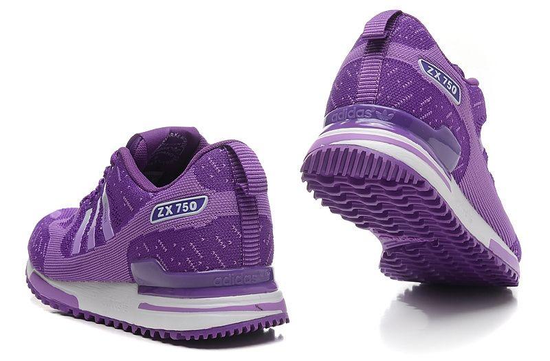 Adidas ZX 750 женские (фиолетовые)
