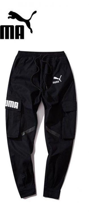 Черные штаны Puma