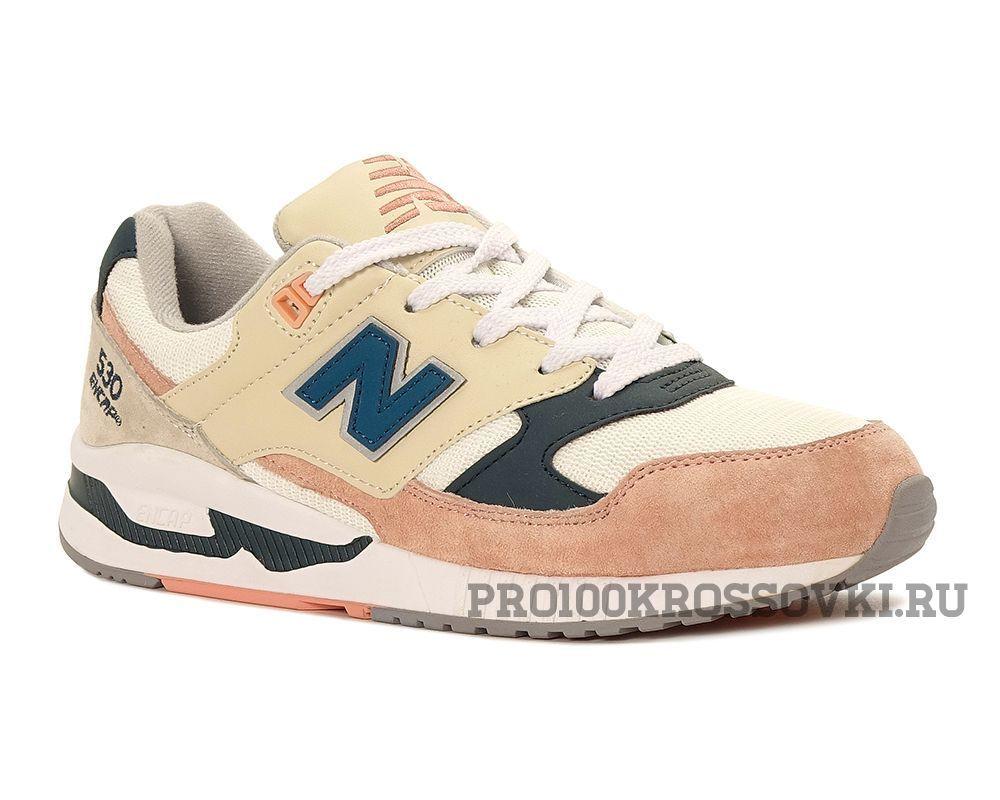Женские кроссовки New Balance 530 бежево-розовые