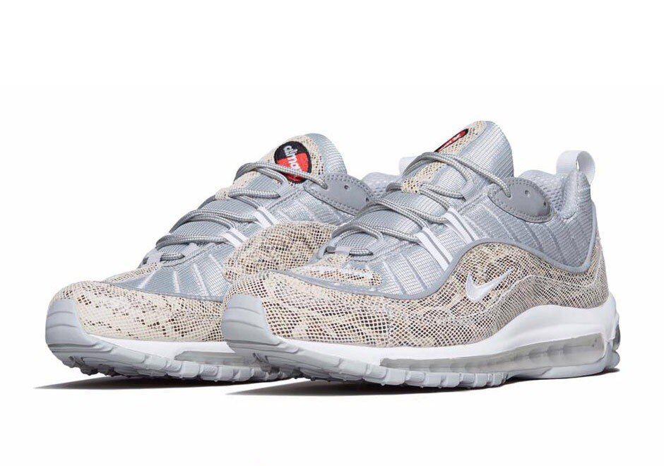 Nike Air Max 98 Supreme White Grey